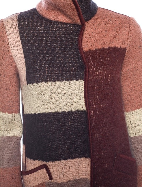 Missoni Colorblock Wool Coat