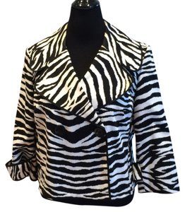 INC International Concepts Black & White Jacket