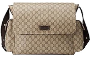Gucci Beige/Ebony Diaper Bag