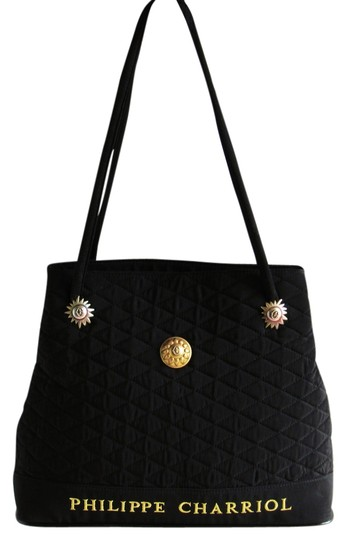 Preload https://img-static.tradesy.com/item/14857504/charriol-philippe-paris-signature-quilted-black-synthetic-blend-tote-0-1-540-540.jpg
