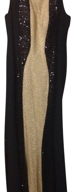 Preload https://item5.tradesy.com/images/black-and-gold-long-formal-dress-size-12-l-14857759-0-1.jpg?width=400&height=650