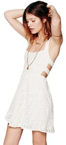 Free People short dress Ivory Day on Tradesy