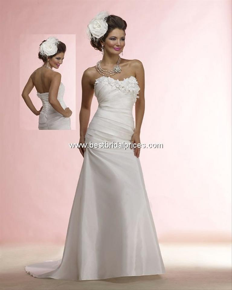 Forever Yours Wedding Gowns: Forever Yours White 311206 Wedding Dress Size 20 (Plus 1x