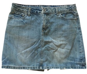 American Eagle Outfitters Mini Skirt jean, distressed look