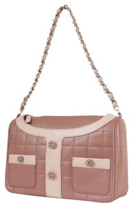 Chanel Vintage Rare Chic 2.55 Classic Jacket Suit Tote in Pink