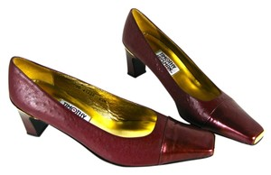 Timothy Hitsman Red Wine Pumps