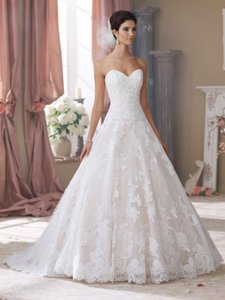 David Tutera For Mon Cheri Wyomia Wedding Dress