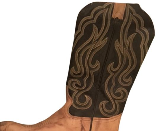 Preload https://img-static.tradesy.com/item/14858914/brown-leather-western-cowgirl-cowboy-women-s-d-bootsbooties-size-us-8-regular-m-b-0-1-540-540.jpg