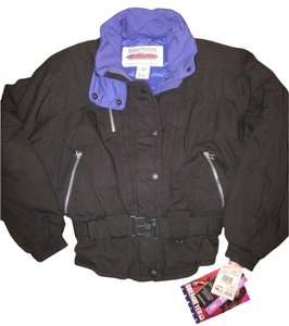 Obermeyer Ski Ladies Black Jacket