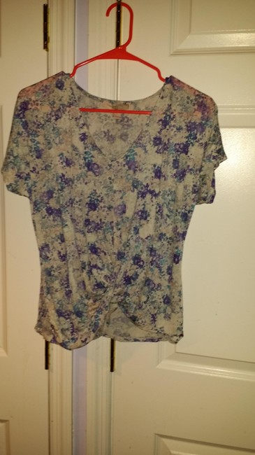Forever 21 Top Purple-Blue