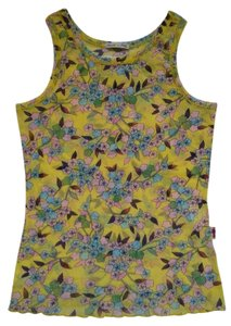 Jean-Paul Gaultier Top Yellow Floral