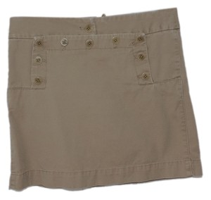 J.Crew Mini Skirt khaki