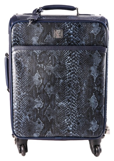 Preload https://img-static.tradesy.com/item/14859496/mcm-small-trolley-cabin-carry-on-python-print-blue-leather-weekendtravel-bag-0-1-540-540.jpg