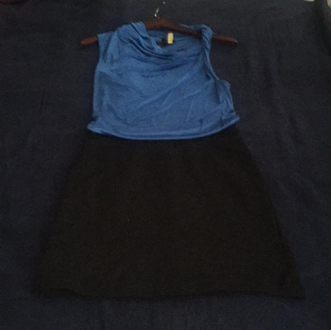 Preload https://item5.tradesy.com/images/bcbgmaxazria-royal-blue-and-black-above-knee-cocktail-dress-size-4-s-14859604-0-0.jpg?width=400&height=650