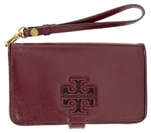 Tory Burch Wristlet in Red Agate