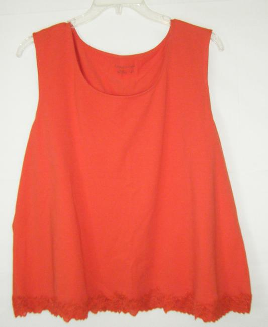 Preload https://img-static.tradesy.com/item/1486028/coldwater-creek-paprika-3x-cotton-spandex-lace-trim-at-hem-sleeveless-tank-topcami-size-26-plus-3x-0-0-650-650.jpg