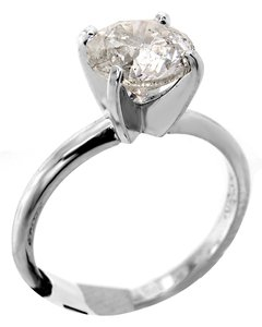 ABC Jewelry Brilliant Cut Solitaire Ring