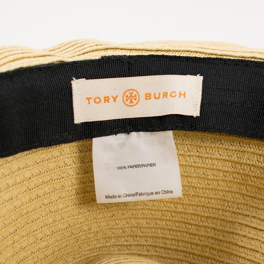 Tory Burch Tory Burch Classic Grossgrain Fedora Hat - Natural/Sand - One Size Image 4
