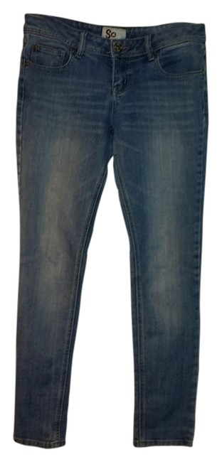Social Occasions Straight Leg Jeans-Light Wash
