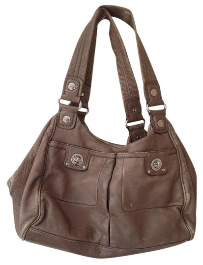 Marc by Marc Jacobs Leather Silver Hardware Hobo Bag