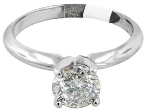 ABC Jewelry Brilliant Cut Solitaire Diamond Ring