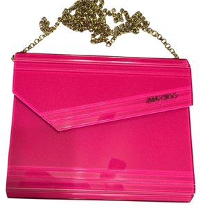 Jimmy Choo Tote in Hot Pink