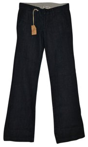 Madewell Wide Long Flare Leg Jeans-Dark Rinse