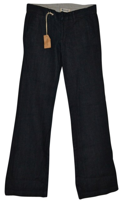 Preload https://item3.tradesy.com/images/madewell-dark-rinse-new-inseam-34-flare-leg-jeans-size-26-2-xs-14861122-0-1.jpg?width=400&height=650