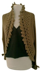 Abercrombie & Fitch Made Crochet Shrug Sweater