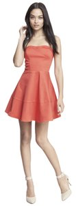 Express short dress Pink / Coral on Tradesy