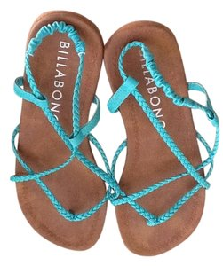 Billabong teal Sandals
