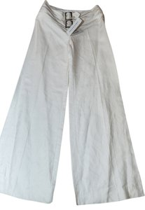 Valentino Super Flare Pants White