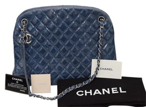 Chanel Caviar Leather Bowling Just Mademoiselle Shoulder Bag