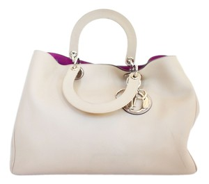 Dior Tote in Pinky Beige