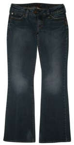 Silver Jeans Co. 5 Pocket Style Zip Fly Boot Cut Jeans-Dark Rinse