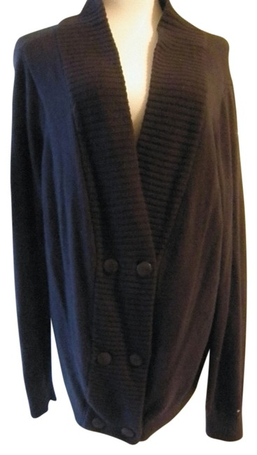 Tommy Hilfiger Cardigan Classic Double Breasted Plus-size Sweater