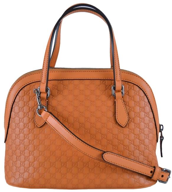 Item - Tango Dome New 341504 Micro Gg Convertible Mini Purse Orange Leather Messenger Bag