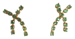 EMERALD EARRINGS - ESTATE PIECE