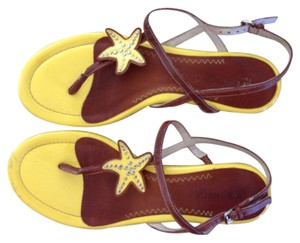 Sperry Yellow Sandals