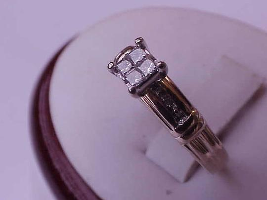Other Estate Vintage 14k Yellow Gold .20ct Diamond ring ,1950's