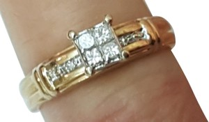 Other Estate Vintage 14k Yellow Gold .30ct Diamond ring ,1950's