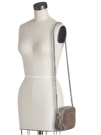 Rebecca Minkoff Leather Studded Rare Cross Body Bag