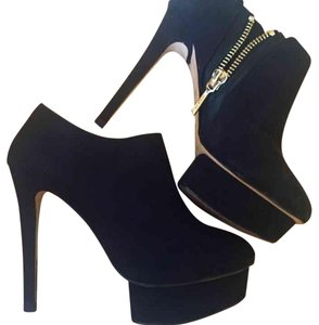Zara Black Gold Platforms