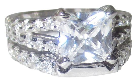 Preload https://img-static.tradesy.com/item/14863021/j-brand-clear-925-sterling-silver-princess-cut-genuine-zircon-gemstone-split-shank-accents-size-5-6-0-1-540-540.jpg