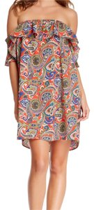 Joyce off the shoulder dress short dress Multi on Tradesy
