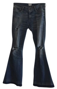 Citizens of Humanity Distressed Anthropologie Flare Leg Jeans