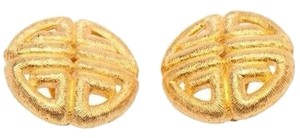 Givenchy Givenchy Vintage Logo Earrings