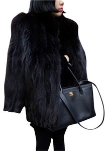 Saga Furs Fox Fur Fur Diamond Fur Coat