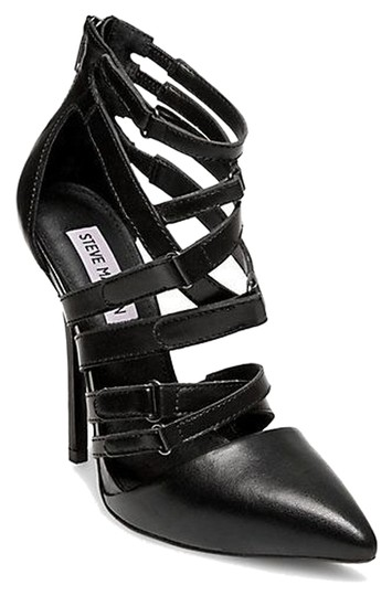 Preload https://img-static.tradesy.com/item/14864359/steve-madden-black-strappy-pointy-toe-pumps-size-us-8-regular-m-b-0-1-540-540.jpg