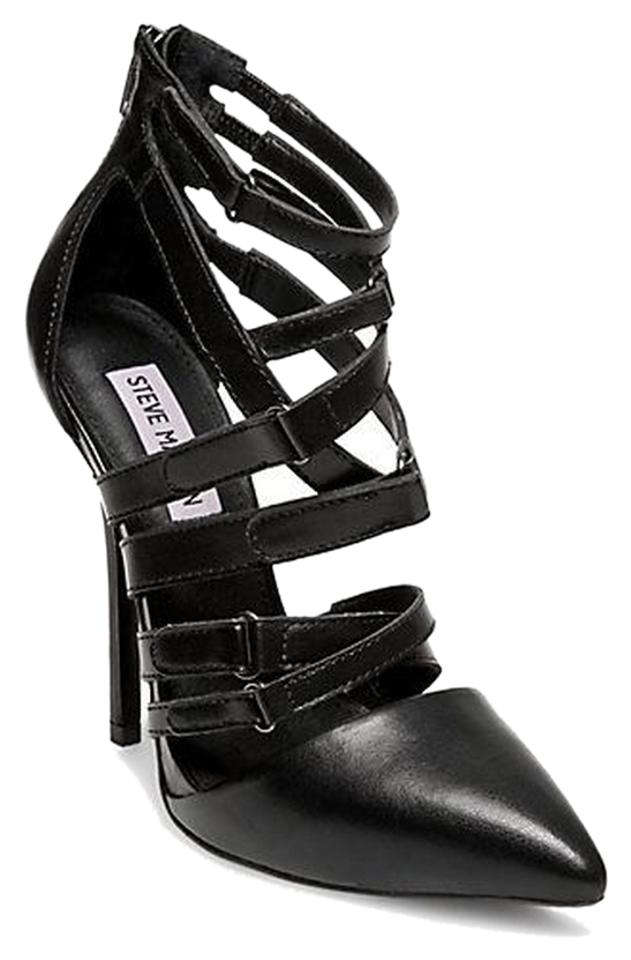 Steve Madden Strappy Black Strappy Madden Pointy Toe Pumps abaa2a